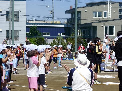 運動会と学童保育