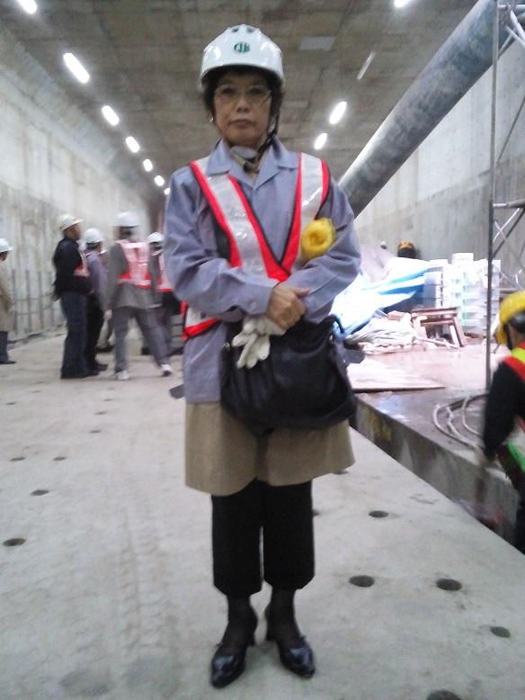台北地下鉄工事